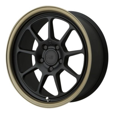 Motegi MR135 Matte Black wheel | 17X8.5, 5x112, 72.60, 35 offset