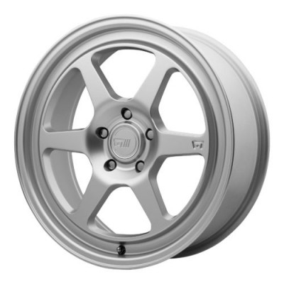 Motegi MR136 Hyper Silver wheel (18X9.5, 5x100, 72.60, 45 offset)