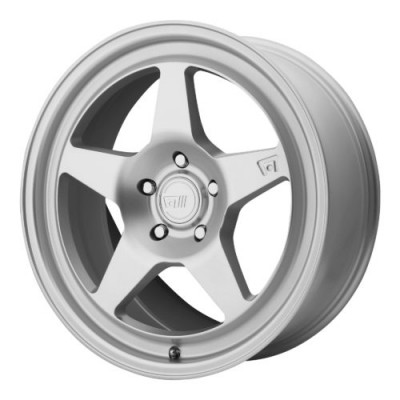 Motegi MR137 Hyper Silver wheel (18X8.5, 5x100, 72.60, 45 offset)