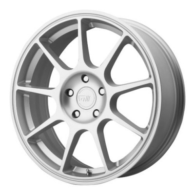 Motegi MR138 Hyper Silver wheel (17X7, 5x114.3, 72.60, 38 offset)