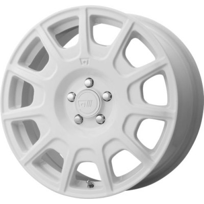 Motegi MR139 White wheel (16X7.5, 5x100, 72.60, 40 offset)