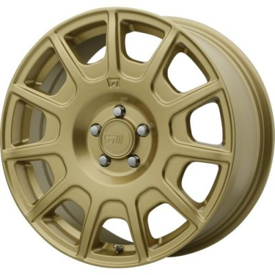 Motegi MR139 Matte Gold wheel (16X7.5, 5x100, 72.60, 40 offset)