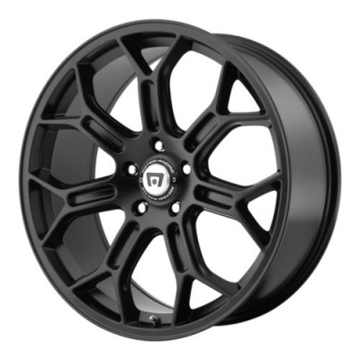 Motegi TECHNO MESH S Satin Black wheel (19X10, 5x120.65, 72.6, 79 offset)