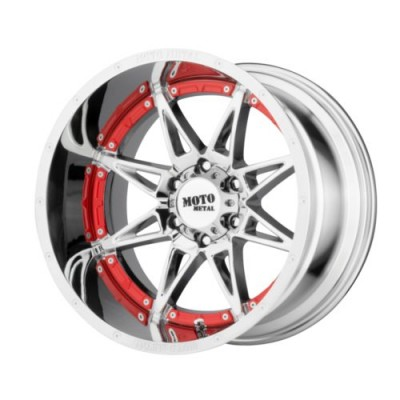Moto Metal HYDRA Chrome wheel (17X9, 8x165.1, 125.5, -12 offset)