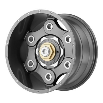 Moto Metal LINK Gun Metal wheel (17X9, , 72.6, 18 offset)