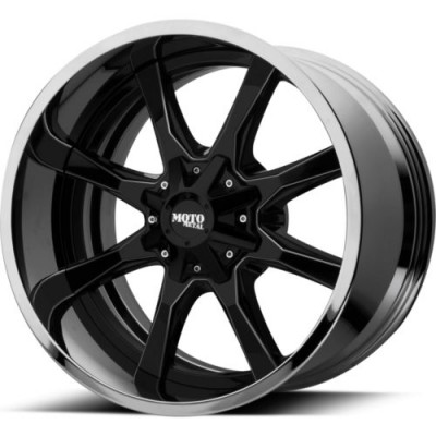 Moto Metal MO201 Gloss Black Machine wheel (20X10, 6x135/139.7, 106.25, -18 offset)