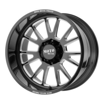 Moto Metal MO401 Gloss Black wheel (20X12, 5x127, 71.5, -44 offset)