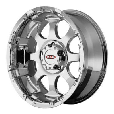 Moto Metal MO955 Chrome wheel (17X9, 5x127, 78.30, -12 offset)