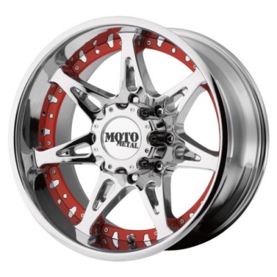Moto Metal MO961 Chrome Plated wheel (20X9, 6x139.7, 106.25, 18 offset)