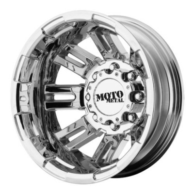 Moto Metal MO963 Chrome wheel (16X6, 8x165.1, 125.50, -134 offset)