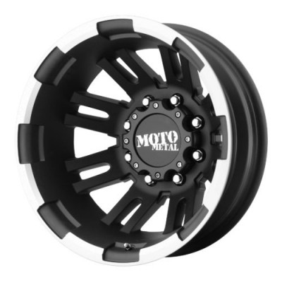 Moto Metal MO963 Matt Black Machine wheel (16X6, 8x165.1, 125.50, -134 offset)