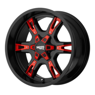 Moto Metal MO969 Black Red wheel (20X12, 5x127, 78.3, -44 offset)