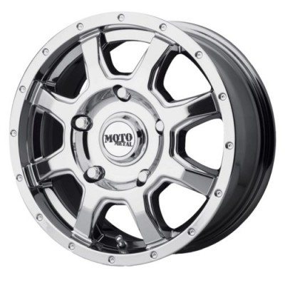 Moto Metal MO970 Chrome wheel (17X8, 5x160, 65.10, 42 offset)
