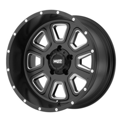Moto Metal MO972 Machine Black wheel (17X9, 5x139.7, 108, -12 offset)