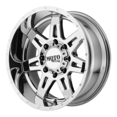 Moto Metal MO975 Chrome wheel (20X10, 5x127, 78.30, -24 offset)