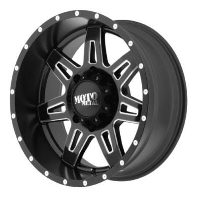Moto Metal MO975 Machine Black wheel (20X9, 6x139.7, 106.25, 18 offset)