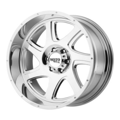 Moto Metal MO976 Chrome wheel (20X12, 5x139.7, 108, -44 offset)