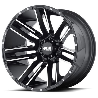 Moto Metal MO978 RAZOR Machine Black wheel (18X9, 5x127, 72.60, 18 offset)
