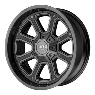 Moto Metal MO984 SHIFT Matt Anthracite wheel (20X10, 5x127/139.7, 78.30, -24 offset)