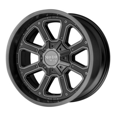 Moto Metal MO984 SHIFT Dark Matte Grey wheel (20X10, 8x170, 125.50, -24 offset)