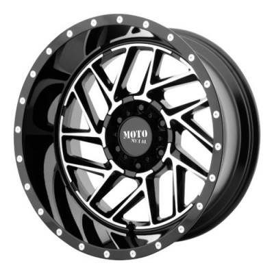 Moto Metal MO985 BREAKOUT Gloss Black Machine wheel (20X10, 6x139.7, 106.25, -18 offset)
