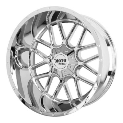 Moto Metal MO986 SIEGE Chrome Plated wheel (20X12, , 78.30, -44 offset)