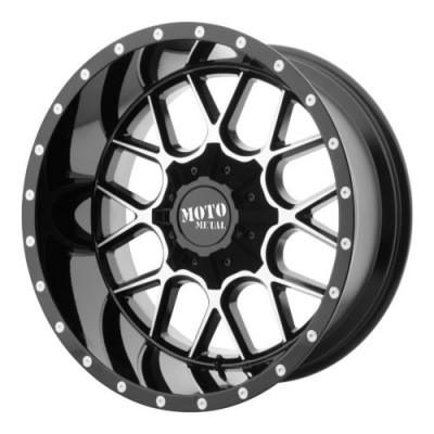 Moto Metal MO986 SIEGE Gloss Black Machine wheel (20X12, , 78.30, -44 offset)