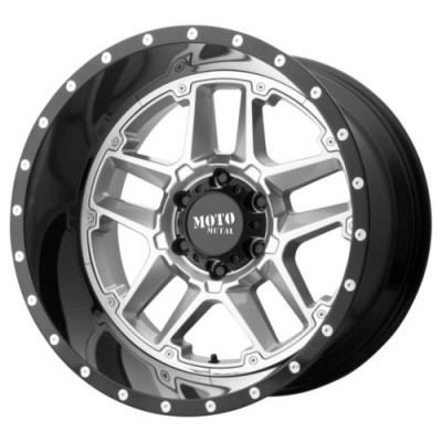 Moto Metal SENTRY Black wheel (16X8, 6x139.7, 106.25, -6 offset)
