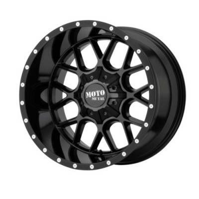 Moto Metal SIEGE Gloss Black wheel (20X12, 5x139.7/150, 110.5, -44 offset)