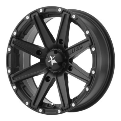MSA Offroad Wheels CLUTCH Satin Black wheel (14X7, 4x110, 86, -47 offset)