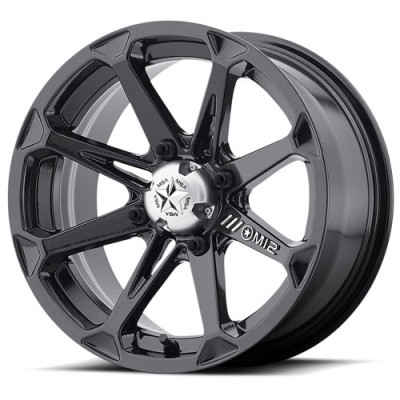 MSA Offroad Wheels M12 DIESEL Gloss Black wheel (22X7, 4x137, 112.00, 10 offset)