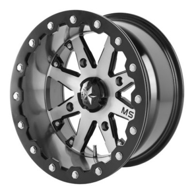 MSA Offroad Wheels M21 LOK Machine Black wheel (16X7, 4x137, 112.00, 0 offset)