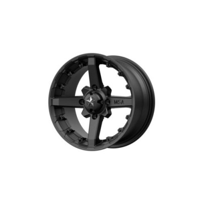 MSA Offroad Wheels M23 BATTLE Matte Black wheel (12X7, 4x137, 112.00, 15 offset)