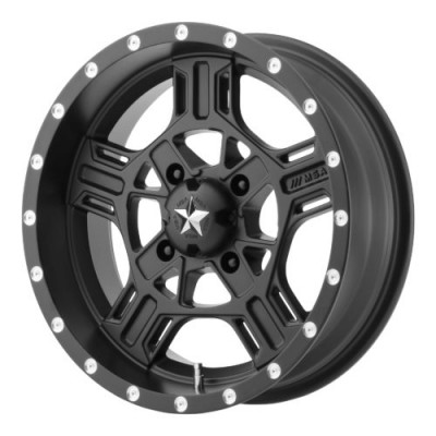 MSA Offroad Wheels M32 AXE Satin Black wheel (14X7, 4x110, 86.00, 0 offset)