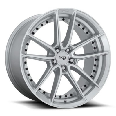 NICHE DFS M221 Machine Silver wheel (19X8.5, 5x120, 72.5, 35 offset)