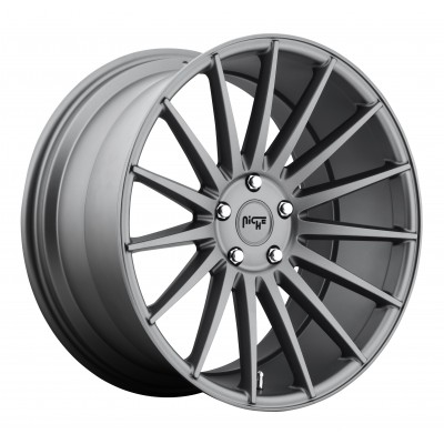 NICHE Form M157 Matte Gun Metal wheel (19X8.5, 5x112, 66.6, 34 offset)