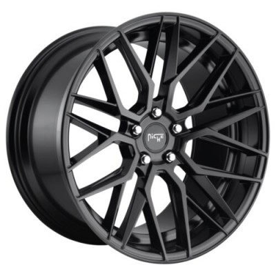 NICHE GAMMA Matte Black wheel (19.00X8.50, 5x112.00, 66.5, 42 offset)
