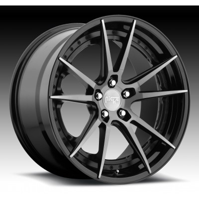 NICHE Grand Prix M324 Machine Black wheel (20X9, 5x120, 72.6, 35 offset)
