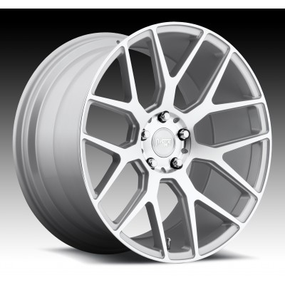 NICHE Intake M160 Machine Silver wheel (20X10, 5x112, 66.6, 50 offset)