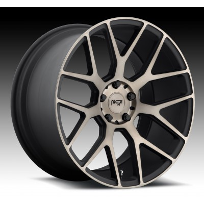 NICHE Intake SUV M159 Machine Black wheel (22X10, 5x127, 71.8, 38 offset)