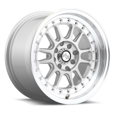 NICHE Johnny Walker M090 Machine Silver wheel (15X8, 4x100/114.3, 72.6, 25 offset)