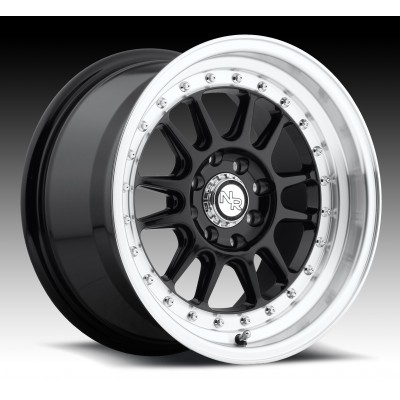 NICHE Johnny Walker M091 Machine Black wheel (15X8, 4x100/114.3, 72.6, 25 offset)