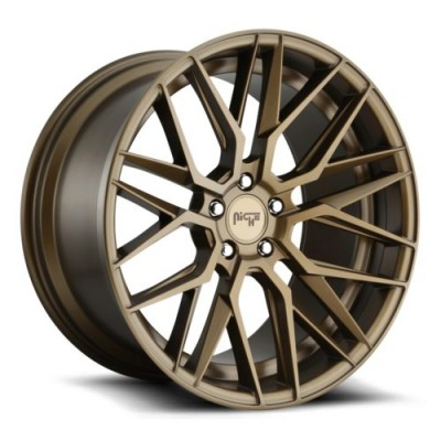 NICHE M191 Matte Bronze wheel (18X8, 5x114.3, 72.6, 40 offset)