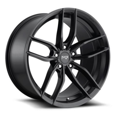 NICHE M203 Matte Black wheel (18X9.5, 5x112, 66.5, 48 offset)