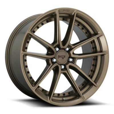 NICHE M222 Matte Bronze wheel (17X8, 5x112, 66.5, 40 offset)