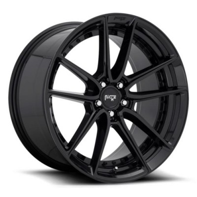 NICHE M223 Gloss Black wheel (17X8, 5x120, 72.5, 40 offset)
