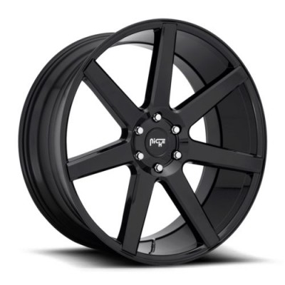 NICHE M230 Gloss Black wheel (20X9.5, 5x127, 71.5, 30 offset)