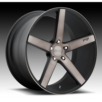 NICHE Milan SUV M134 Machine Black wheel (22X10, 5x120, 72.6, 40 offset)