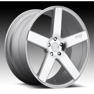 NICHE Milan SUV M135 Machine Silver wheel (22X10, 5x120, 72.6, 40 offset)