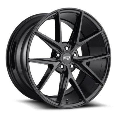 NICHE Misano M119 Gloss Black wheel | 20X10, 5x120, 72.5, 40 offset